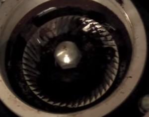 Messy grinder